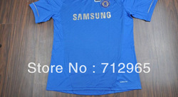 12/13 Thailand Quality Chelsea home blue soccer football jersey shirts uniforms Cheap soccer jerseys(China (Mainland))