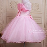Summer spaghetti strap child wedding dress child princess dress flower girl formal dress costume 4 color free shipping