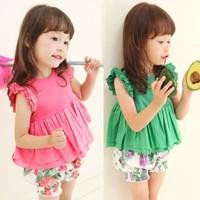 Female child baby 2013 spring children's clothing full cotton vest spaghetti strap t-shirt basic shirt