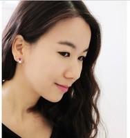 Consideration of temperament Plum crystal diamond pearl earrings ($ 10 mixed batch) wins woman B838