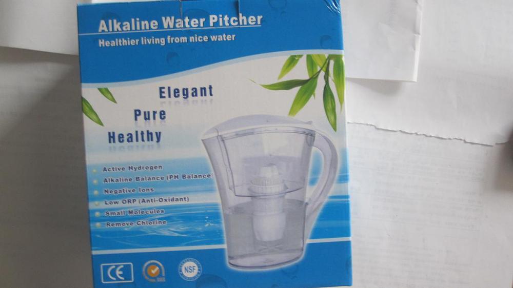Wholesale - Alkaline Water Ionizer Purifier Jug Pitcher Ionizer Purifier Pitcher 2.0 LITER Fee Shipping(China (Mainland))