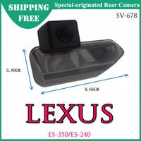 Free Shipping -- SV-678 Special-Originated Car Rear View Camera for LEXUS ES-350/ES-240 CMOS/CCD