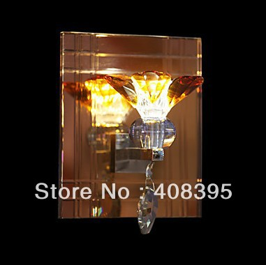 Contemporary Crystal Wall light with 1 LED Light Floral Designed(China (Mainland))