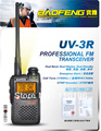 15% OFF Two-Way Radio BAOFENG UV-3R Professional FM Transceiver Walkie Talkie Dual Band Frequency