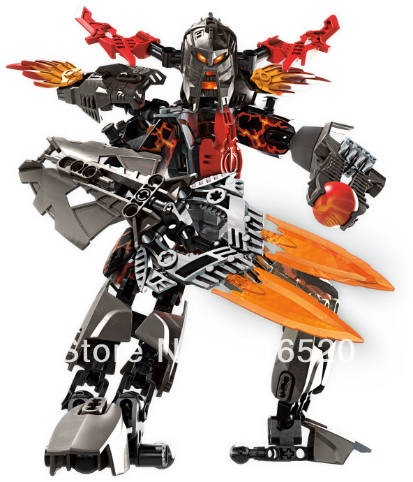 Decool Hero Factory 2 Star soldier war Fire Lord NO.9566 Building Block Sets 125pcs robot action figure DIY toys for children(China (Mainland))