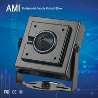 Free Shipment 1/3 SONY CMOS 600TVL Miniature Camera with 3.7mm Pinhole lens CCTV CAMERA surveillance systems ccd camera