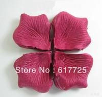 1000Packs/Lot,144Pcs/Pack,High Quality,Free Shipping,Non-woven Russet-red Rose Petals And The Wedding Flower
