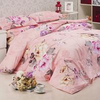 Ultra-Low 100% cotton bedding 4pcs bedding set   Free shipping!
