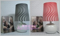 Brief stripe dimmable lamp bedroom lamp bed-lighting