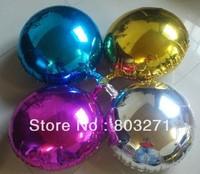 20pcs 18 inches  Round Party Foil, Aluminium Balloons, Wedding/ Birthday/Anniversary Decorations