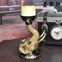 Fashion home decorations lucky elephant mousse crafts decoration romantic mousse