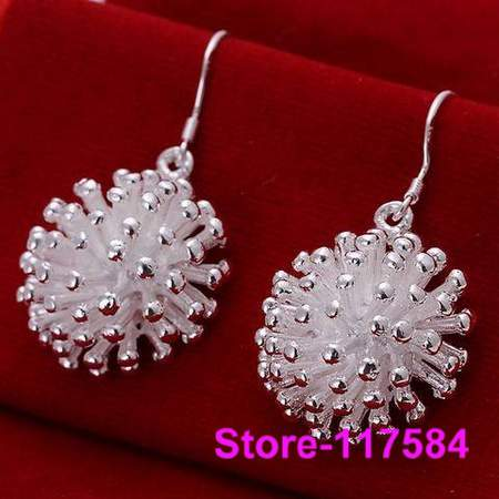 E114 925 sterling silver 2013 fashion jewelry earrings for women Fireworks Earrings /fgba nxia(China (Mainland))