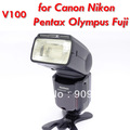 photographic equipment Voeloon V100 flash speedlight for Canon Nikon Pentax Olympus Fuji