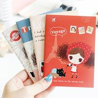 Cute Pura Girl Mini Hand Memo Note Book Pad Notepad Diary Book 4 designs ST0862