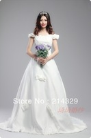 Свадебное платье high quality lace bridal wedding dresses princess style for new 2013 fashion wedding gowns formal dresses