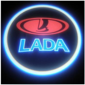 HOT Lada welcome light ,led lighting c,ar door welcome light l,aser projection lamp logo light