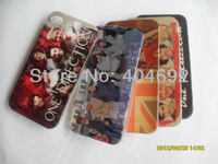 10 pcs new one direction 1D hard plastic back cover case for iphone 4 4s Free shipping