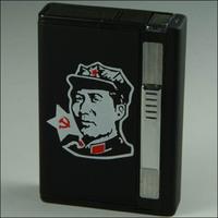 Metal automatic cigarette case 8 br-16