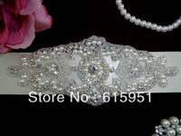 Beautiful pearl beaded crystal beaded wedding accessories wedding dress belt wedding dress waistband JY361