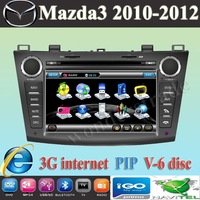 "7"" car DVD player + GPS navigation for New Mazda 3 Mazda3 2010 2011 2012 / 3G internet"