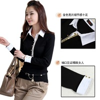 No Belt XL,4XL Fat Women Plus Size Long Sleeve Black Pullover Sweaters Knitwear Free Shipping d5310