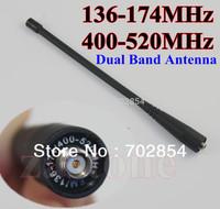High gain dual band walkie talkie antenna 136-174 & 400-520MHz for BAOFENG UV-5R UV-5RA UV-5RB UV-5RC 5RE UV-5RA+ UV-5R+ antenna