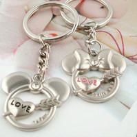best-selling  MICKEY MINNIE couple key chain key chain gift..RTE