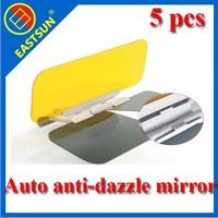 EASTSUN HOT!!! free shipping iversal Car Anti-glare Mirror Anti-dazzle Mirror Outdoor Day & Night Glare Car Visor Mirror