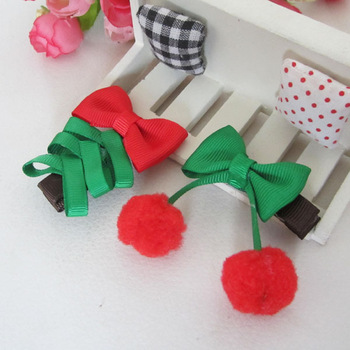 Fashion Baby Infant Hair Clips Head Wear Kid's Hair Accessories Christmas Gift