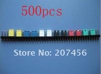 Freeshipping 500PCS x 2.54mm Standard Circuit Board Jumper Cap shunts