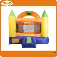 Hot sale bouncy castle with happy hoop