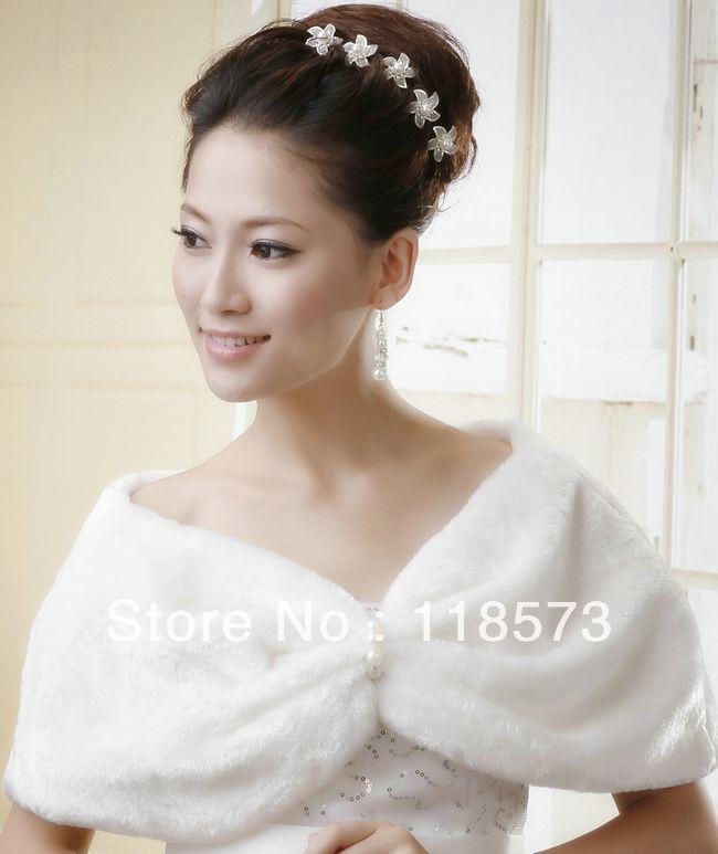 Wedding dresses: a shawl for a wedding dress