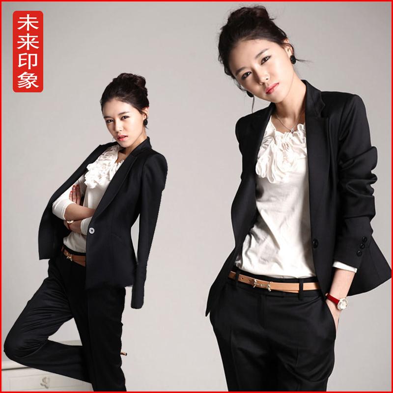Work-wear-women-suit-fashion-ol-women-s-formal-suit-work-wear-uniform ...