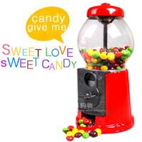 Hot sale Jelly belly luxury metal twist candy machine  piggy bank