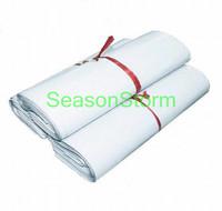 10 pcs/pack Retail 14 Silk 17X30cm White Color PE Express Plastic Bags  (SD-270)