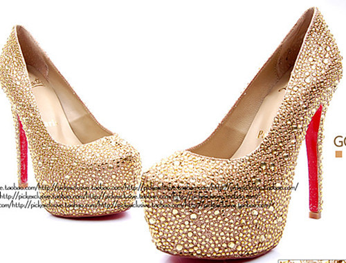 Online Get Cheap Champagne Colored High Heels Aliexpress