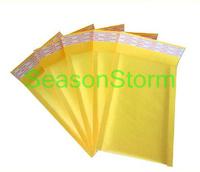 Retail 23cm X 17cm Kraft Paper Air Bubble Envelope Bag Yellow Color (SD-182)