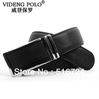Free shipping Brand men's business belts, automatic buckle leather belt