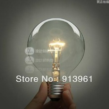 Special lighting Filament Pure light Art light bulb vintage retro Edison lamp E27 Halogen Bulbs ,FREE SHIPPING(China (Mainland))