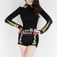 2013 fashion vintage fashion slim hip woolen shorts boot cut jeans shorts 70160 sexy club wear