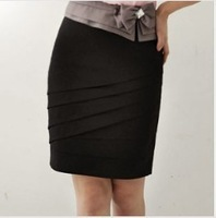 Free ship,lady/women plus size female  skirt short skirt