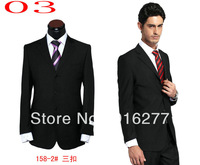 Free shipping A++ + high quality male suit classical fashion suit 2 pieces (jacket + pants) size S M L XL XXL XXXL