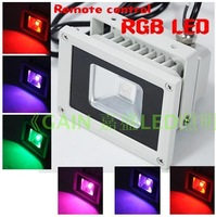 Free Shipping 50w rgb led colorful remote control lights flood light outdoor lamp flodlit 12v24v110v220v