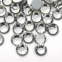 Super Shiny Crystal Clear 14400PCS 2028 Rhinestones Silver Foiled Back SS3 SS4 SS5 SS6 SS8 SS10 SS12 SS16 SS20 SS30 SS34 SS40