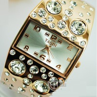 Bright big drill fashion watches for women free postage