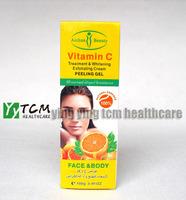 wholesale AICHUN Vitamin C treatment & whitening exfoliating cream Peeling Gel face and body 100g/pcs