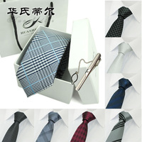 wrap gift boxes! top quality male formal married commercial  casual tie 6cm Free shipping