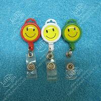 Mini retractable reel holder