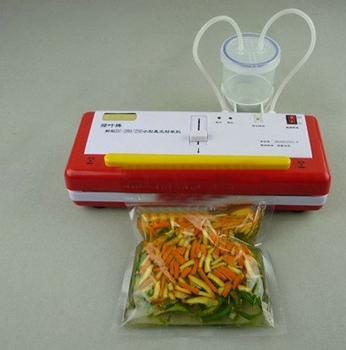 DRY- WATER vacuum packaging machine Vacuum food SEED Sealer powerful vacuum pump 4MM heat wires vacuum packing machine