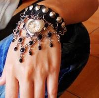 Selling luxury publicity type network oranges hanging leisure fashion really leather female Bracelet